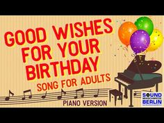 Happy Birthday Song, Good Wishes For Your Birthday Wishes ❤️ New Happy Birthday Song for adults released in One of the best new Birthday Songs, Birthda. Happy Birthday Dancing, Birthday Wishes Songs, Whatsapp Videos, Baby Toms, Wishes For You, Good News, Berlin, Youtube, Music
