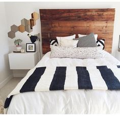 love the headboard and the throw blanket