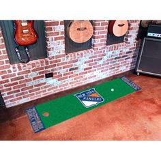 New York Rangers NHL Putting Green Runner (18x72)