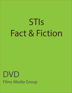 STIs: Facts & Fiction (DVD) - Becoming sexually active is a choice many teenagers make - one that should be made with solid understanding of the threats to their health and that of their partners. In this program we take a detailed look at sexually transmitted infections, commonly known as STI's. We specifically focus on the facts and myths, decisions and getting help, symptoms and consequences, and treatment and protection.