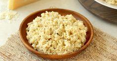 Healthy Cheesy Cauliflower Rice Recipe