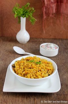 THE CHEF and HER KITCHEN: Baby Corn Pulao | Babycorn Recipes