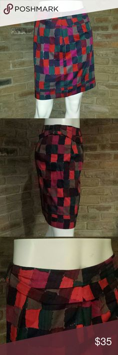 Marc by Marc Jacobs skirt Marc by Marc Jacobs multicolored skirt, great for the office Marc by Marc Jacobs Skirts