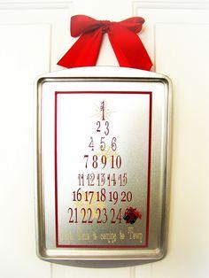 Christmas Countdown Calendar calendar christmas merry christmas christmas pictures christmas gifts christmas ideas happy holidays merry xmas homemade christmas gifts handmade christmas ideas