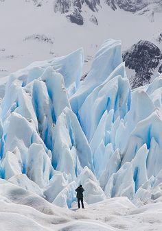 Caminata sobre el glaciar Perito Moreno.(recomendable)