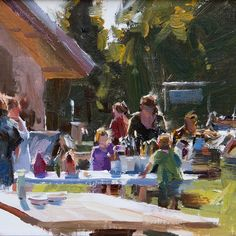 """Mitch Baird will be teaching """"Learning to See Your Subject en Plein Air"""" July 31-August 3. #oil #acrylic #penartworks"""
