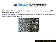 electroplating-in-india-26263898 by electroplatingurgaon via Slideshare