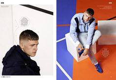 Modern Sportswear Editorials : modern sportswear