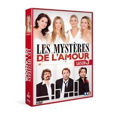 LES MYSTERES DE L'AMOUR - SAISON 3 | DVD - NEUF