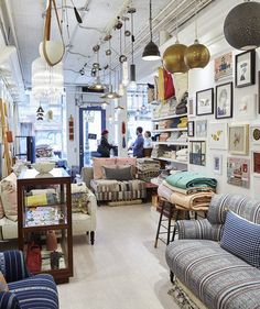 3 Things to Keep in Mind When Shopping for Home Decor | Mauri Weakley and her husband, Ben Heemskerk's home-furnishings store, Collyer's Mansion, brims with pretty patterns and poppy colors, yet it's perfectly curated. As a shopper, how do you not lose your head when surrounded by such choices? Mauri offers up some home decor strategies to help below.