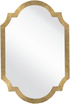 Add a little romance and glamour into your life with our Penelope Mirror, finished in gold and fit for a queen.
