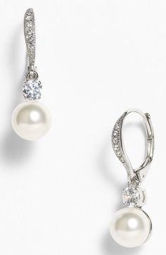Nadri Drop Earrings (Nordstrom Exclusive) available at #Nordstrom