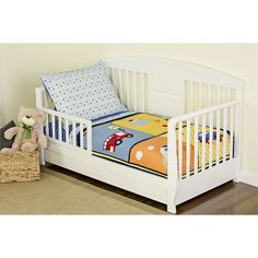 Dream On Me On the Go 4 Piece Toddler Comforter Set