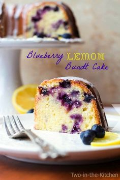 not what i would make as an average cake. usually just cake mix it, but on occasion i do scratch bake.... this Blueberry Lemon Bundt Cake has now been added to a must try list.