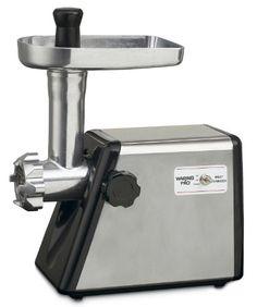 Waring MG100 Meat Grinder, 300-watt, Stainless Steel