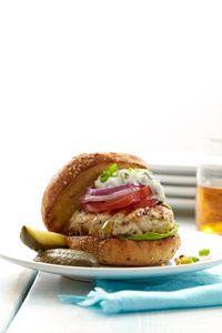 Tasty Turkey Burger - Healthy Recipe Finder | Prevention