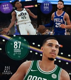 672a0cbc379c With Jayson Tatum receiving an NBA 2K19 rating of 87 what should his felow  ROY candidates