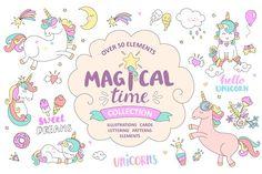 Magical time. Unicorns. - Illustrations - 1