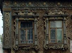 traditional Russian windows