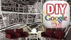DIY Google Map Wall, MAN VS. PIN #5