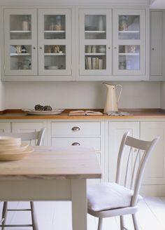 Plain English - wooden worktop