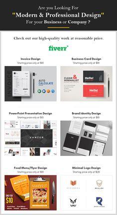 Which is the best place to find a professional graphic designer? Invoice Design, Brochure Design, Branding Design, Best Logo Design, Business Card Logo, Business Card Design, Corporate Stationary, Menu Flyer, Kustom