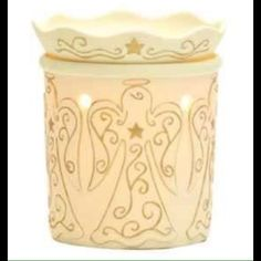"""""""HEAVENLY"""" Scentsy Warmer-No Longer Made This warmer is new, in box, never used....it is no longer being made by Scentsy Scentsy Other"""