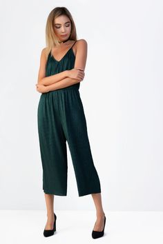 f1629867a47   Camisole Pleated Jumpsuit by Glamorous Pleated Jumpsuit