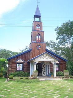 Iglesia La Milagrosa, Damajagua, Los Montones. Taken in 2005, by Nancy.