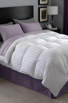 Restful Nights Luxury Down Comforter on @HauteLook