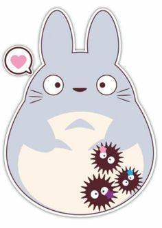 My Neighbor Totoro Studio Ghibli Anime Car Window Decal Sticker 002 | eBay