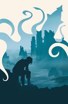 Game of Thrones Theon Greyjoy Kraken aus den Eiseninseln Kunstdruck Silhouette Poster 11 . - Game Of Thrones Arte Game Of Thrones, Game Of Thrones Meme, Game Of Thrones Theon, Game Of Thrones Poster, Casa Greyjoy, Kraken Art, Game Of Thrones Instagram, Game Of Thones, Winter Is Here