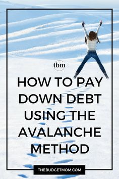 Pay your debt off in the shortest amount of time with the debt avalanche method. Click to read how it can also save you the most money on interest! via @thebudgetmom