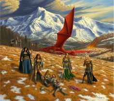 Meanwhile Back in The Dungeon..., meanwhilebackinthedungeon: – Larry Elmore The...