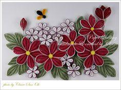 감기 스타일이 좀 바뀌었죠? 2-3가지 꽃을 만들어서 심플하고 깔끔한 분위기지만 색상이 아주 강해서 시선...