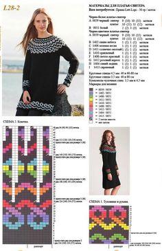 Znalezione obrazy dla zapytania jacquard schemas for knitting Cable Knitting, Fair Isle Knitting, Knitting Charts, Knitting Stitches, Knitting Designs, Knitting Patterns Free, Knit Patterns, Knitting Projects, Tejido Fair Isle