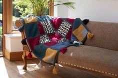 The Wool Nest Knitting Kits, Knitting Patterns, Stitch Patterns, Afghan Patterns, Knitting Stitches, Knitting Projects, Roving Yarn, Black Sheep Wool, How To Make Tassels
