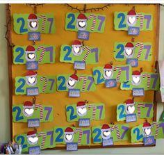 ...Το Νηπιαγωγείο μ' αρέσει πιο πολύ.: Ημερολόγιο για το 2018 Advent Calendar, Christmas Crafts, Holiday Decor, Home Decor, Handmade Christmas Crafts, Decoration Home, Interior Design, Home Interior Design, Home Improvement