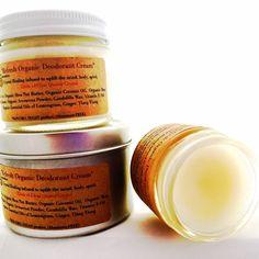 Refresh Organic Deodorant Cream / Crystal by CrystalSensation