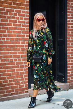 New York SS 2017 Street Style: Charlotte Groeneveld