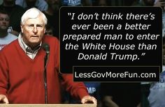 """I don't think there's ever been a better-prepared man to enter the White House than Donald Trump"" -Bobby Knight #RR #usa #liberty"