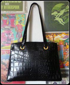 DISSER XXL Leder Tasche Schultertasche Borsa Bag Shopper Schwarz Büro City Groß in Kleidung & Accessoires, Damentaschen | eBay