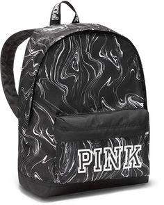 Victoria's Secret Mini Backpack Purse Black White Marble Brand New! Mini Backpack Purse, Backpack For Teens, Black Backpack, Mochila Victoria Secret, Cute Backpacks, Backpacks From Pink, School Backpacks, Tween Fashion, Womens Fashion