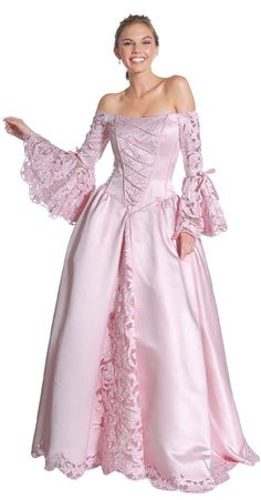 Perfect Pink Victorian Dress victorian style dresses for women Victorian Dresses for Women Style