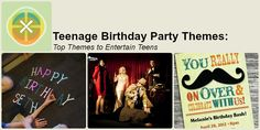 Teenage Birthday Parties | Best Teen Themes | Snappening.com