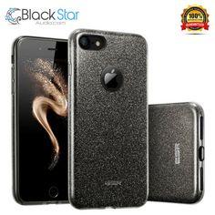 Black Star, Iphone 7 Cases, Sparkle, Bling, Glitter, Luxury, Ebay, Design, Jewel