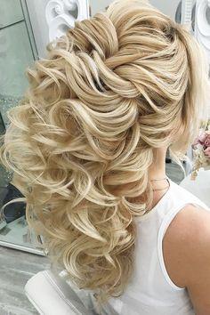 Unique Wedding Hairstyles, Long Hair Wedding Styles, Elegant Wedding Hair, Long Hair Styles, Braided Hairstyles, Cool Hairstyles, Saree Hairstyles, Medium Hair Styles, Natural Hair Styles