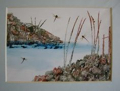 Designs on Craft: Dragonflies Over Water.