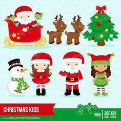 Christmas clipart Navidad vectores