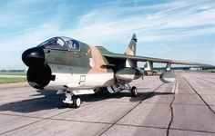 DAYTON, Ohio -- LTV A-7D Corsair II at the National Museum of the U.S. Air Force. (U.S. Air Force photo)